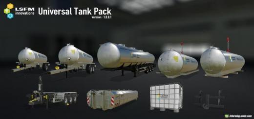 Photo of FS19 – Lsfm Universal Tank Pack V1.0.0.2