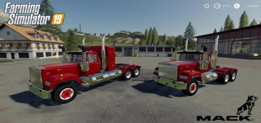 Photo of FS19 – Mack Daycab And Mack Sleeper Truck V1.0.0.5