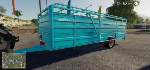 Photo of FS19 – Masson Bs63 Trailer V1