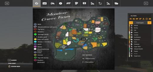 Photo of FS19 – Meadowgrove Map V1