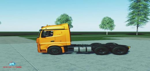 Photo of FS19 – Mercedes Actros Mp4 V1