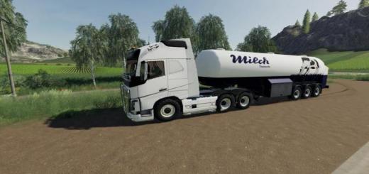 Photo of FS19 – Milk Transport Semi-Trailer V1