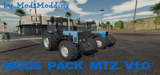 Photo of FS19 – Mtz Mods Pack