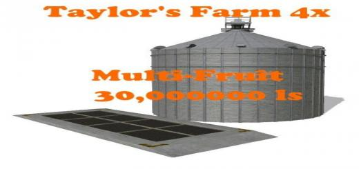 Photo of FS19 – Multifruit Silo For Cazz64 Maps V1
