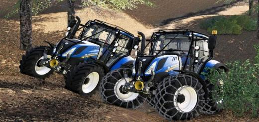 Photo of FS19 – New Holland T5 With Forestry Upgrade V1