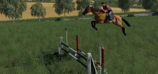 Photo of FS19 – Obstacles Horse Sport V1