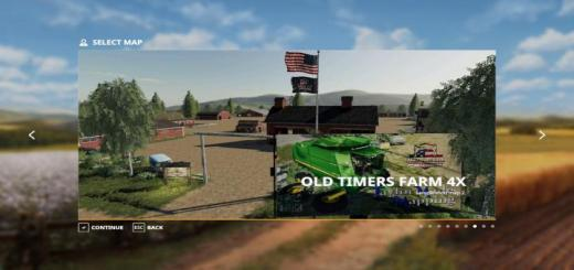 Photo of FS19 – Old Timers Farm Map V1