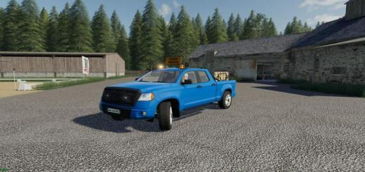 Photo of FS19 – Pickup 2014 Transport Service V1.0.0.2