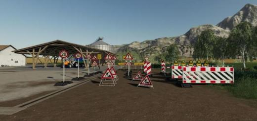 Photo of FS19 – Placeable Barrier Pack V2