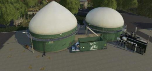Photo of FS19 – Placeable Biogas Plant