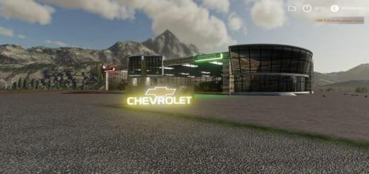 Photo of FS19 – Placeable Chevy Sign V1
