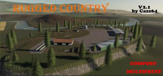 Photo of FS19 – Rugged Country 4X Map V2.1