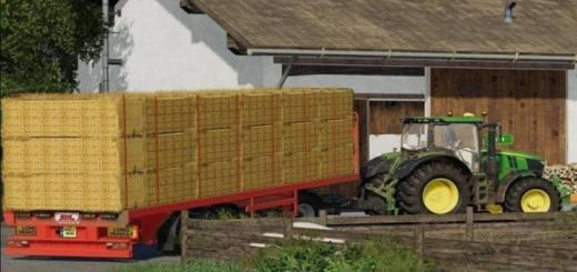 Photo of FS19 – Sdc Flatbed Trailer With Autoloads V2
