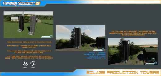 Photo of FS19 – Silage Production Tower Pack V1