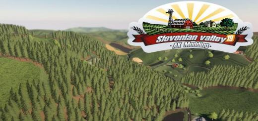 Photo of FS19 – Slovenian Valley Map V1.1