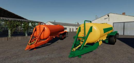 Photo of FS19 – Slurry Tanker 14 With Injector V1.1