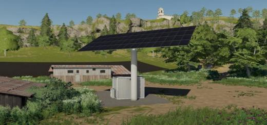 Photo of FS19 – Solar Collecting Single Array Unit – Large V1