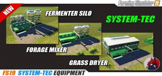 Photo of FS19 – System-Tec Cow Mixer Station (English Version) V1