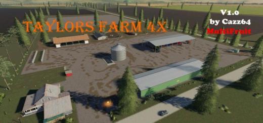 Photo of FS19 – Taylors Farm Multiftiut 4X V1