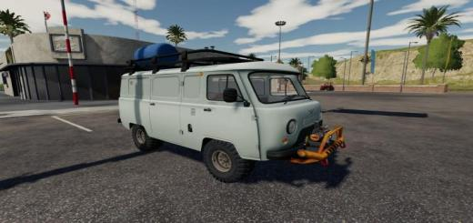 Photo of FS19 – Uaz Service Car V1.3.2.5