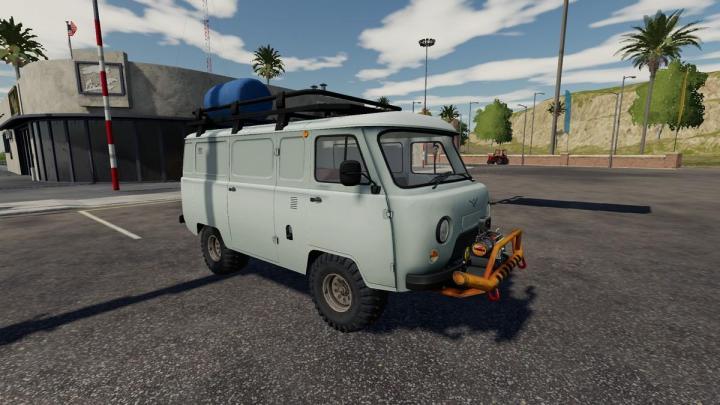 FS19 - Uaz Service Car V1.3.2.5