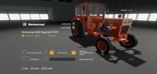 Photo of FS19 – Universal 650 Special 1.0