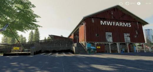 Photo of FS19 – Valley Crest Farm 4Fach Map V1.1