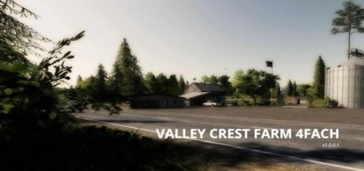 Photo of FS19 – Valley Crest Farm 4X Map V1.0.0.1
