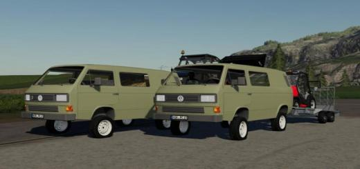 Photo of FS19 – Volkswagen T3 Half Box V0.1