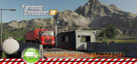 Photo of FS19 – Weighing Bridge V1.05