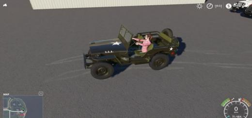 Photo of FS19 – Willys Jeep V1