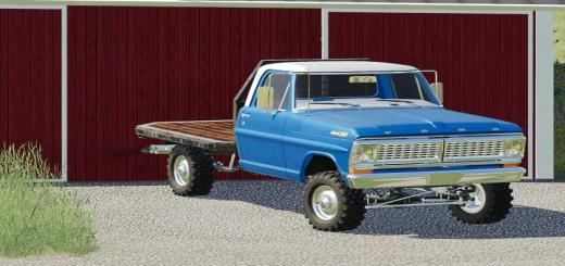 Photo of FS19 – 1972 Ford F100 Bumpside V1