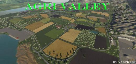 Photo of FS19 – Agrivalley Map V1