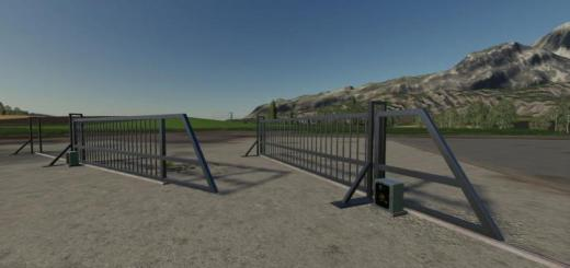 Photo of FS19 – Aluminum Sliding Gate V1