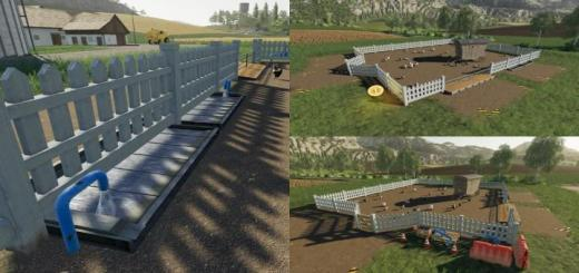Photo of FS19 – Animal Pen Extension V1