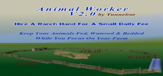 Photo of FS19 – Animal Worker V2