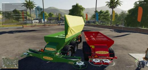 Photo of FS19 – Bredal K165 Lime Spreader Final V1.3