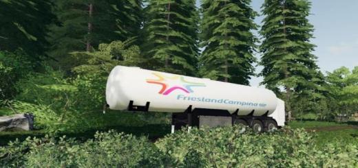 Photo of FS19 – Campina Milk Trailer V1
