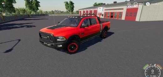 Photo of FS19 – Dodge Power Wagon V1
