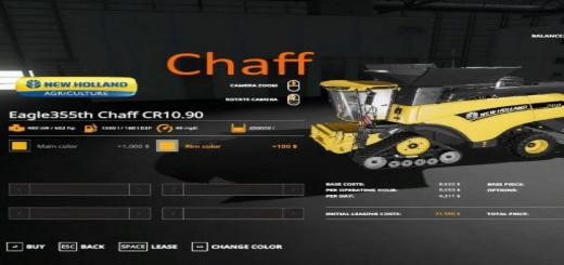 Photo of FS19 – Eagle355Th Newholland Chaff Pack V1