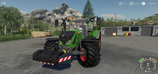 Photo of FS19 – Fbm Team Front Weights Pack V1