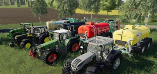 Photo of FS19 – [Fbm Team] Zunhammer 15500 With Other Brands V2