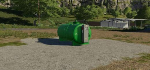Photo of FS19 – Fillable Fueltank 12500L V1