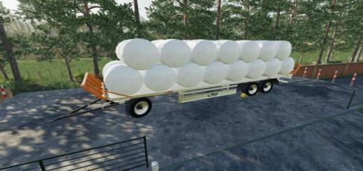 Photo of FS19 – Fliegl Dpw 180/210 Bales-Autoload V1.1
