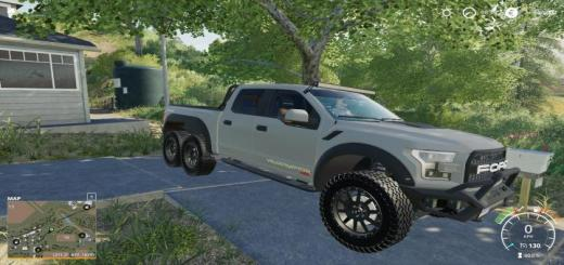 Photo of FS19 – Ford Velociraptor 6X6 Remake V1
