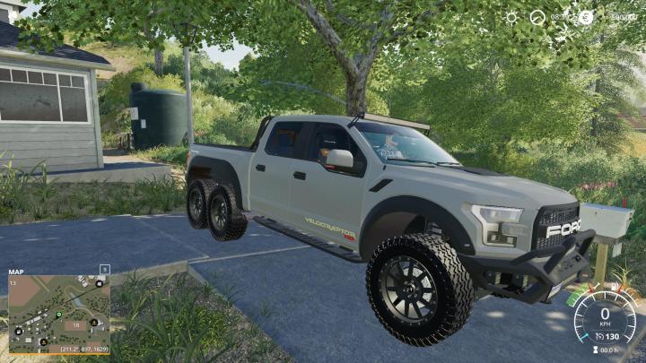 FS19 - Ford Velociraptor 6X6 Remake V1