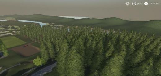 Photo of FS19 – Hagenstedt Forest Map V1