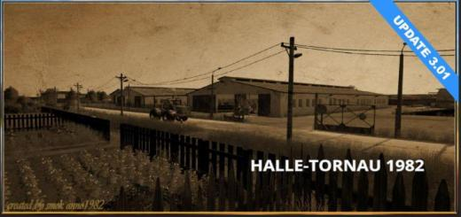 Photo of FS19 – Halle Tornau 1982 Map V3.01