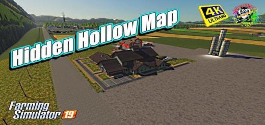 Photo of FS19 – Hidden Hollow Map V1.0.0.1
