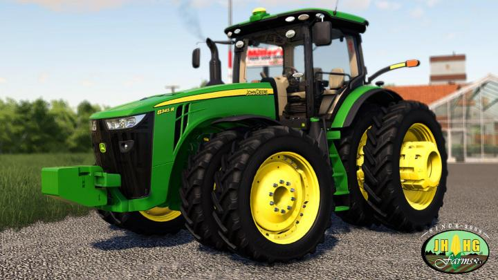 FS19 - John Deere 2016-2018 8R Series Row Crop V1